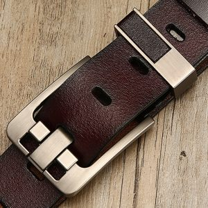Casual Elegant Design Genuine Leather Men Belt