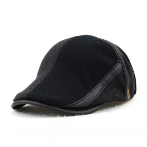 Cute Stylish Patchwork Warm Men Hat Cap