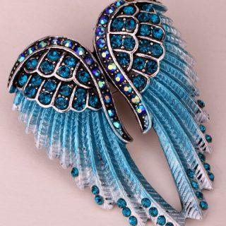 Gorgeous Angel Wings Women Brooch Pin
