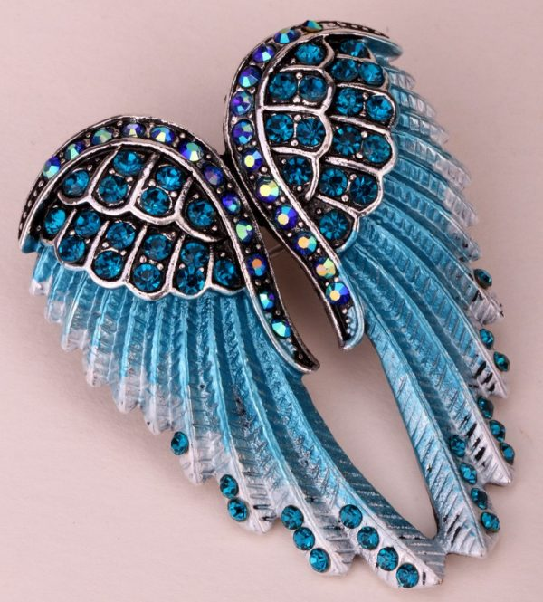 Gorgeous Angel Wings Women Brooch Pin