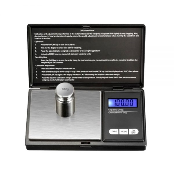 Small Lightweight Compact Digital Jewelry Scale